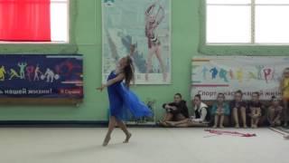 Показательное выступление (Художественная гимнастика) Иванова Елизавета
