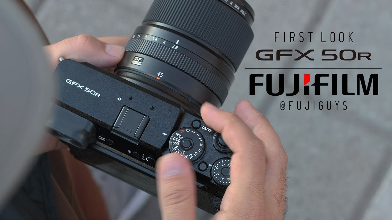 Fuji Guys - FUJIFILM GFX 50R - First Look