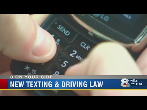 Texting while driving ban starts July 1st