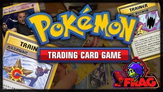 We discuss growing up with the Pokémon Trading Card Game and rediscovering our love for it.