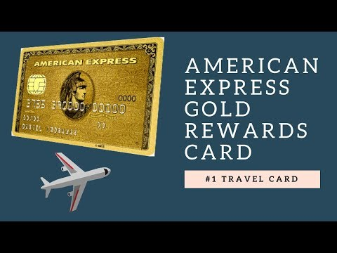 #1 TRAVEL Credit Card In CANADA | American Express Gold Rewards Card