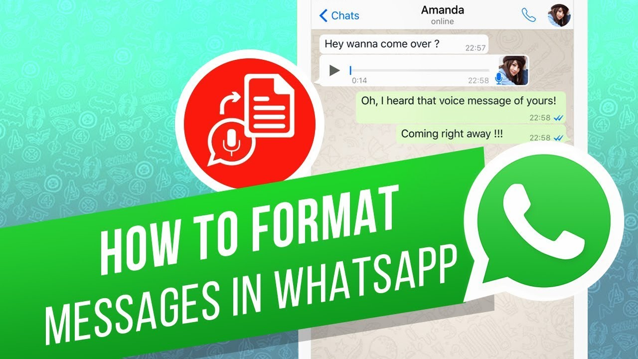 How To Write Bold Italic Strikethrough And Monospace Fonts In Whatsapp Youtube
