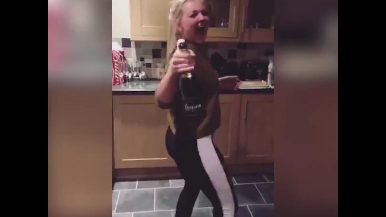 Teen bottle anal