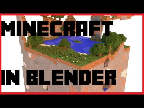 Minecraft In Blender | 2.77a | Cycles | Part 1/2 | Einfügen