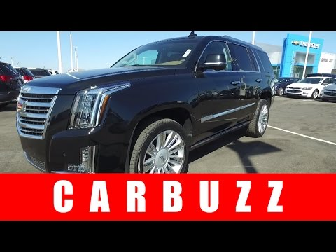 2017 Cadillac Escalade UNBOXING Review - BMW And Audi Can't Do Bling Like This