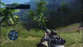 Far Cry 3 stealth mission gameplay