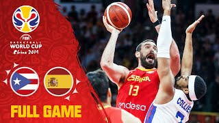 Spain keep their streak alive vs. Puerto Rico - Full Game - FIBA Basketball World Cup 2019