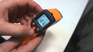 видео Инфракрасный пирометр и точное дистанционное измерение температуры