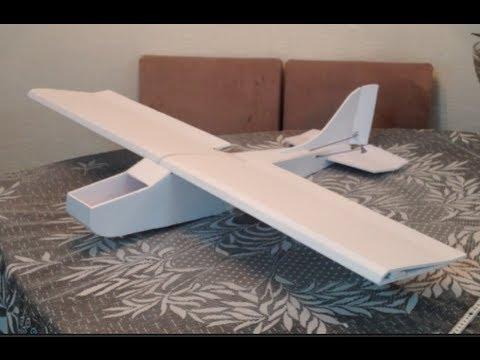CESSNA 182 AEROMODELO - Duvidas primeiro modelo Depron revestido - YouTube