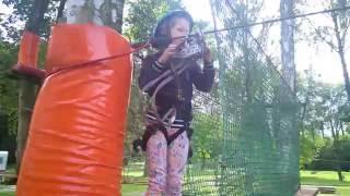 Przygoda w parku linowym dla dzieci – Kazimierz Dolny video