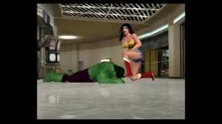 Wonder Woman vs. Hulk CAWs