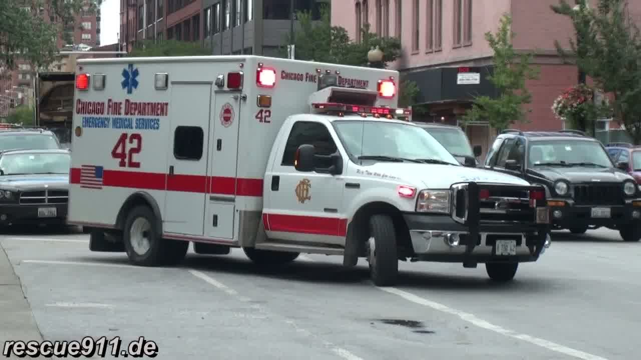 Ambulance 42 Cfd Collection Youtube
