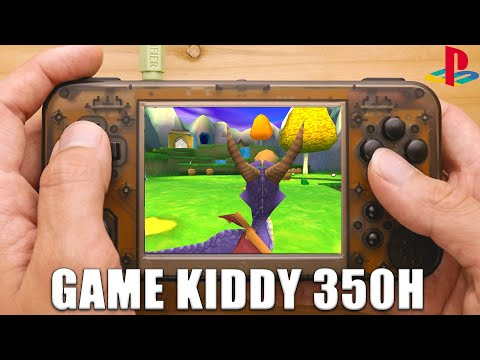 Game Kiddy 350h Ps1 Performance Test Gkd350h Youtube