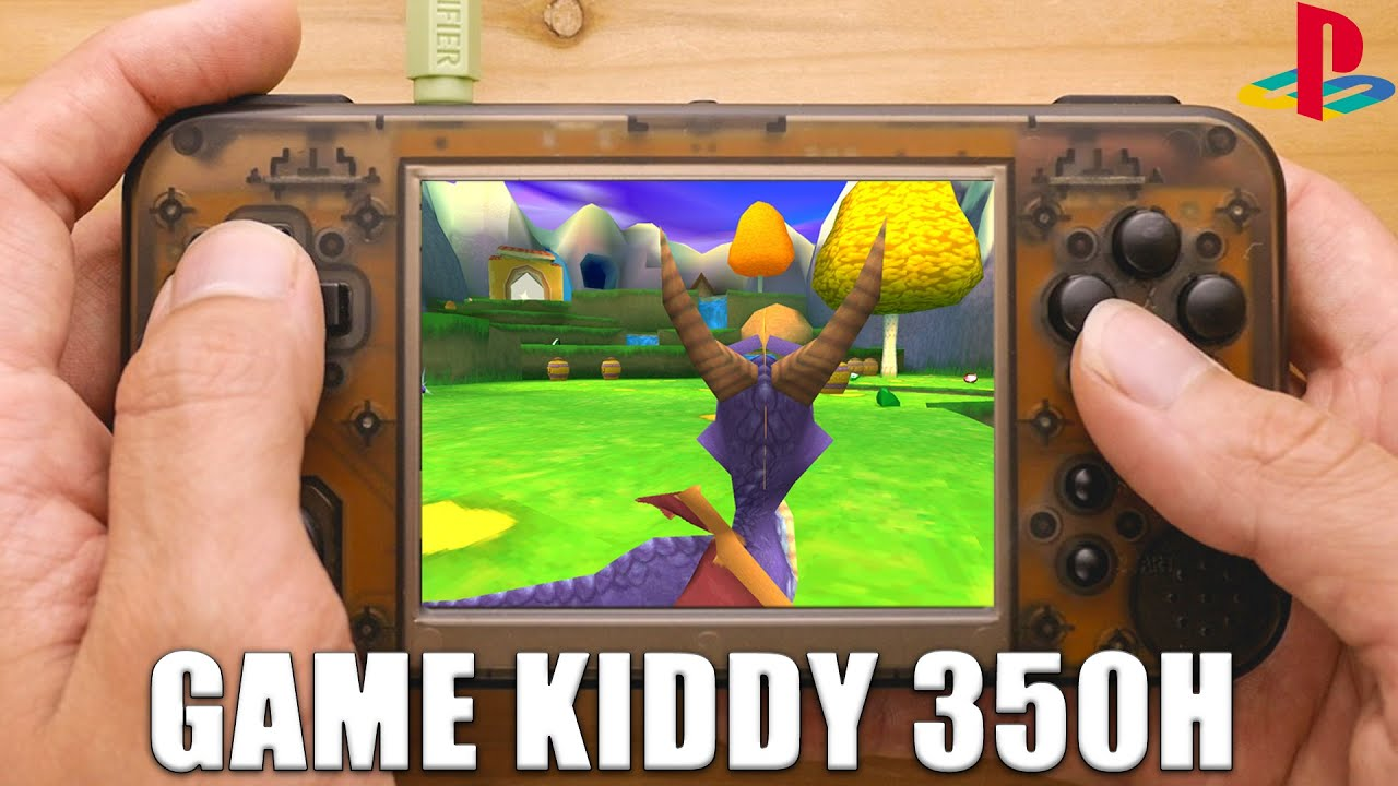 Game Kiddy 350h Ps1 Performance Test Gkd350h