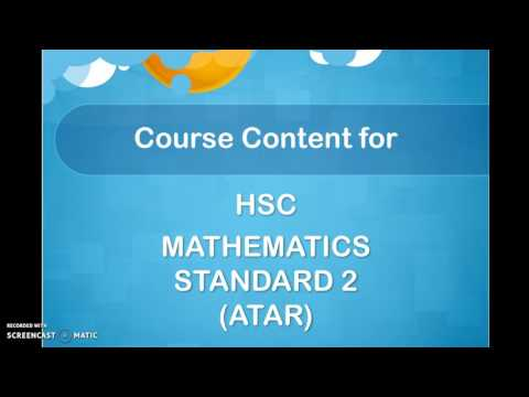 Mathematics Course Selection Video