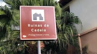 Historic Prison House Ruins Brazil