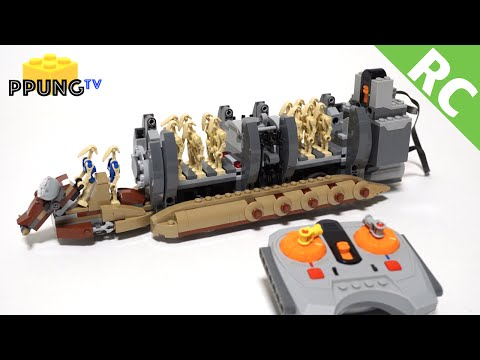 LEGO AT-AT WALKING BACKWARDS (10178)