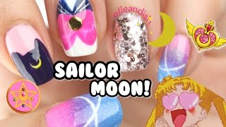 ★☾ SAILOR MOON NAILS ! ☾★