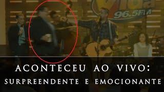 FERNANDINHO canta chorando, após homem surpreender a plateia (música gospel)