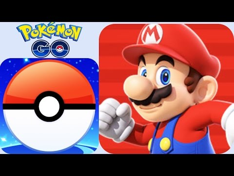 Thumbnail: Super Mario Run vs Pokemon Go 2016 The Best Apps of the Year!