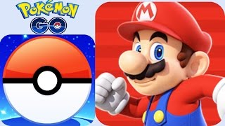 Super Mario Run vs Pokemon Go 2016 The Best Apps of the Year!