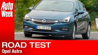 Opel Astra road test