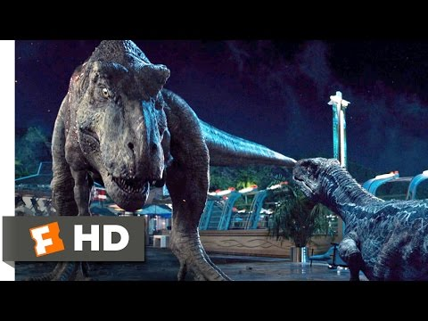 Jurassic World (10/10) Movie CLIP - Dinosaur Alliance (2015) HD