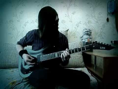Cradle of Filth — An Enemy Led the Tempest [guitar cover]