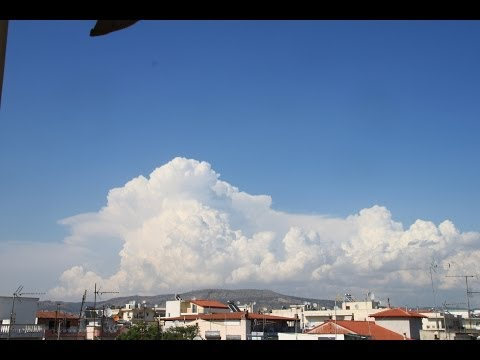 Distant Thunderstorms & Thessaloniki Seaside Time Lapse