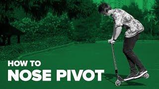 Как сделать Ноуз Пивот на самокате (How to Nose Pivot on a scooter)