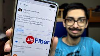 JioFiber - ₹399 Plan Again? New Unlimited Plans