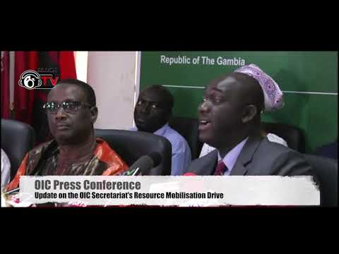 OIC Gambia Press Conference May 22/19