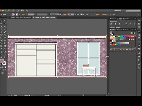 Planogram/Elevation Drawing: fashion merchandising demo