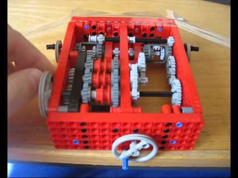 how to build a lego transmission