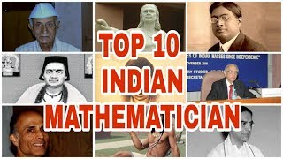 Famous Mathematicians From India