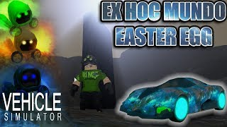 HOW TO SOLVE THE EASTER EGG IN VEHICLE SIMULATOR! - Roblox Vehicle Simulator