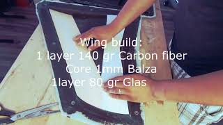 Harrier | Making The Wing Out Of Carbon!