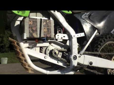 Kawasaki KX125 Electric Motorcycle