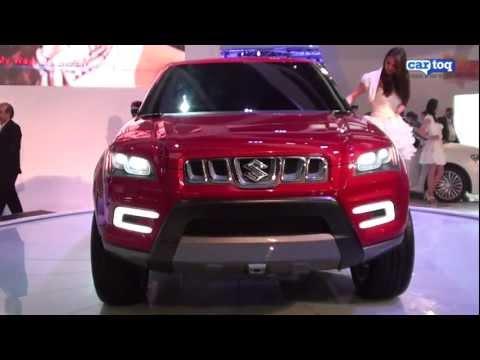 Maruti Suzuki XA Alpha SUV Video Review from CarToq at Auto Expo 2012
