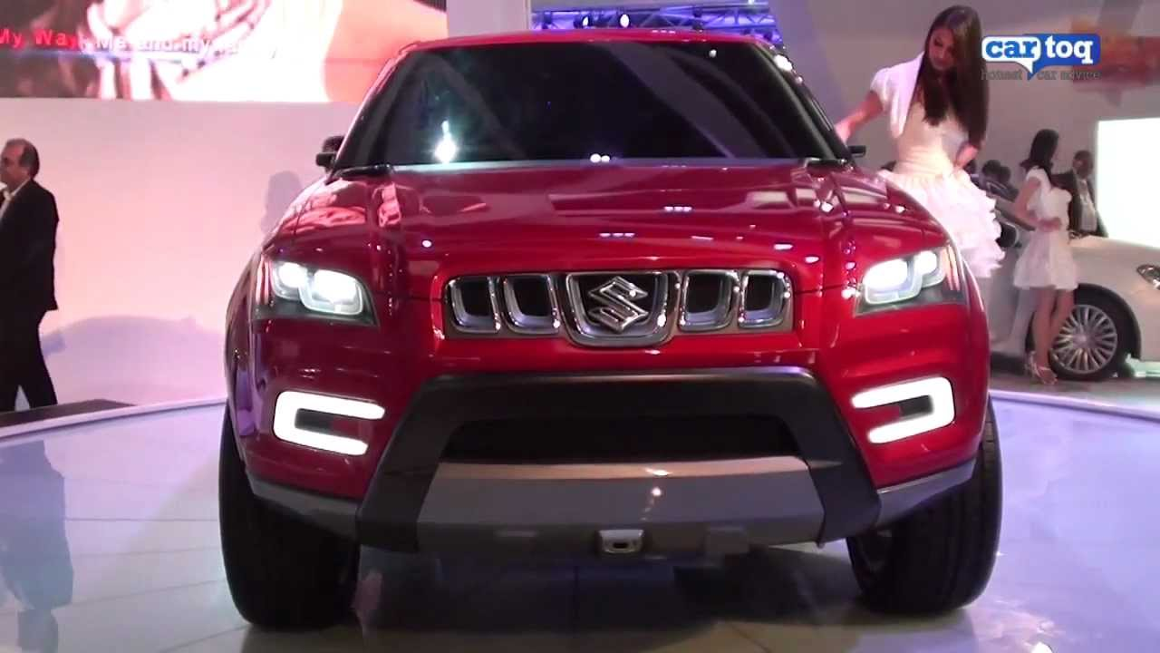 Maruti suzuki xa alpha suv video review from cartoq at auto expo 2012 youtube