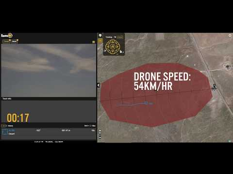 Drone Detection at 863m with the SpotterRF A2000 Radar