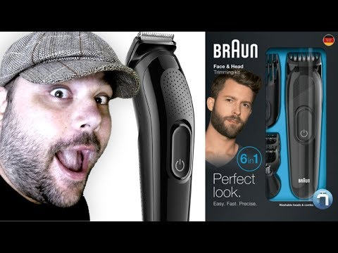 Braun 6 in 1 Perfect Look Trimmer - Unboxing & Review