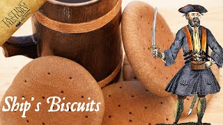How to Eat Lİke a Pirate: Hardtack & Grog