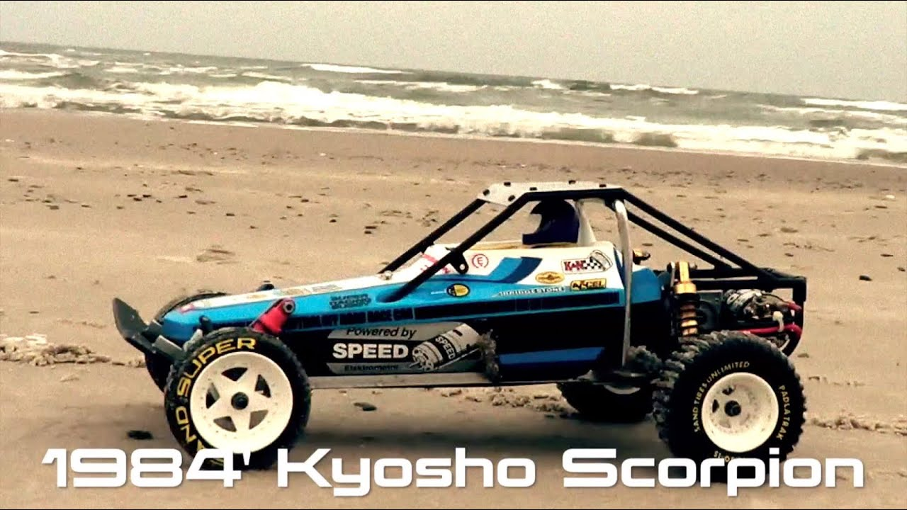 Kyosho Scorpion 1984 Vintage Buggy 2wd Old School