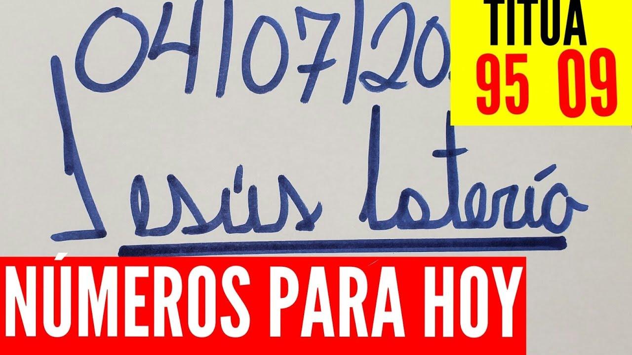 NUMEROS PARA HOY 04/07/2020 DE JULIO PARA TODAS LAS LOTERÍAS