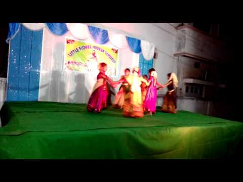 Gudi gantalu song Dance performance(U.K.G) by LITTLE FLOWER E/M SCHOOL, Mancherial 504208