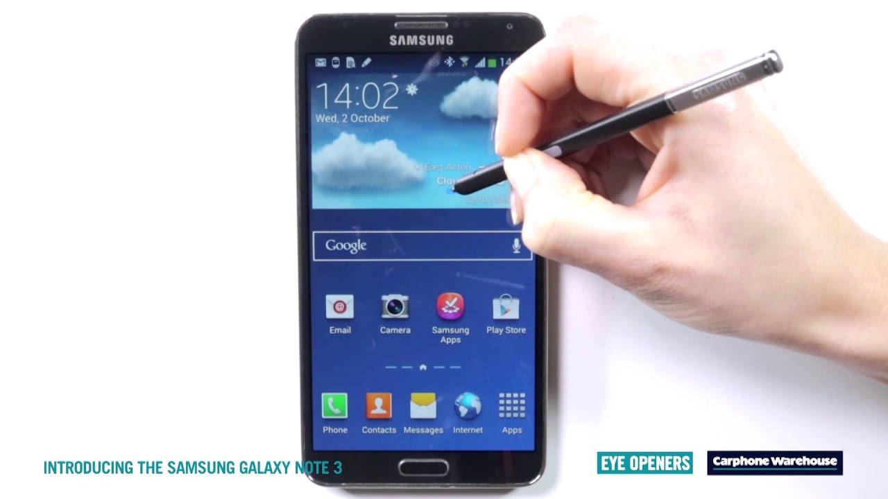 Samsung galaxy note 3 eye opener youtube samsung galaxy note 3 eye opener biocorpaavc
