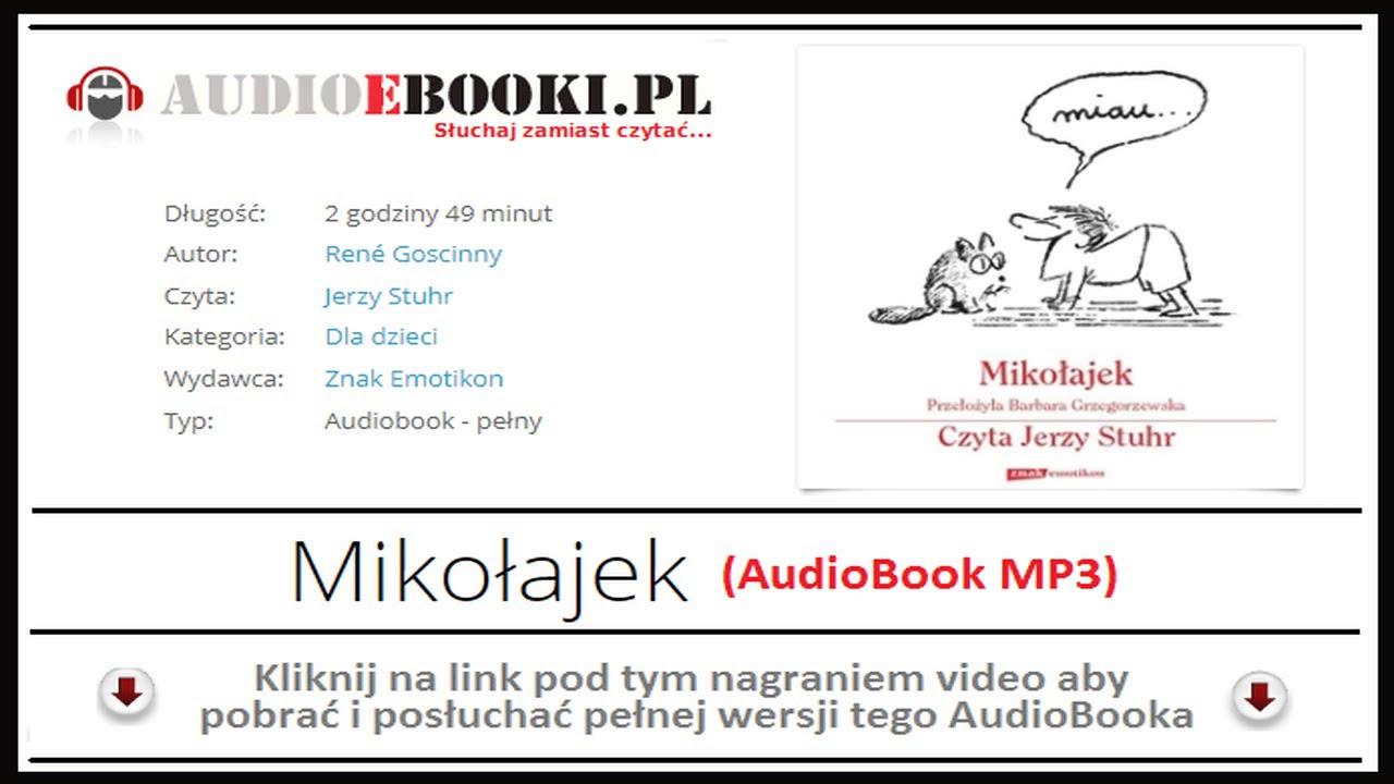 Mikołajek Audiobook Mp3 René Goscinny Pobierz Czyta Jerzy
