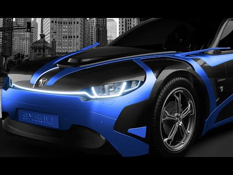 Muscle Car French Tronatic Everia Concept Youtube
