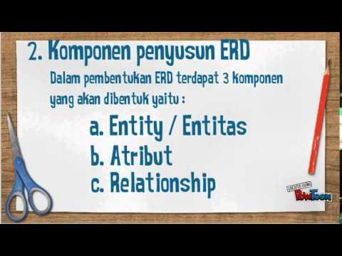 Cara membuat ERD (Entity Relationship Diagram)